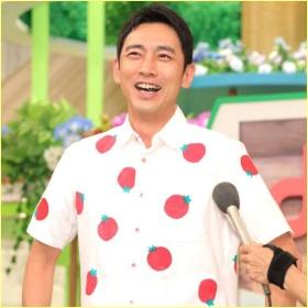 小泉孝太郎のトマト柄のシャツがカワイイ