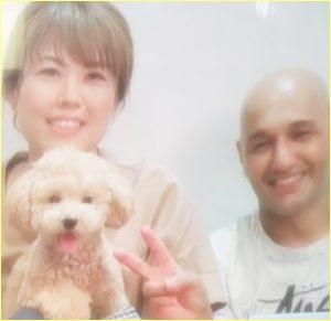 今井アンジェリカの母親と父親と犬
