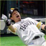 熱男 松田選手のパフォーマンス