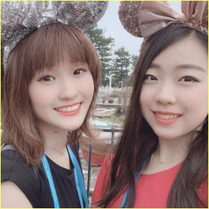 紀平萌絵と紀平梨花選手姉妹の笑顔がかわいい