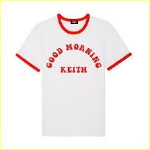 橋本環奈が着用しているTシャツはGOOD MORNING KEITH